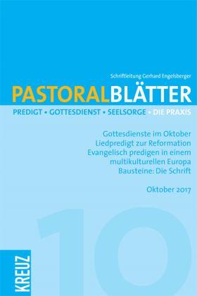 Pastoralblätter - 10/2017