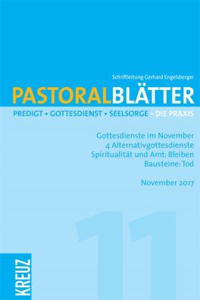 Pastoralblätter - 11/2017