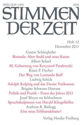 PDF: Auf dem Glauben ruht das Leben (StdZ 12 /2013, S. 817-826)