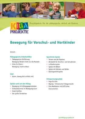 PDF: Bewegung für Vorschul- und Hortkinder (kigaprojekte)