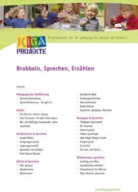 PDF: Brabbeln, Sprechen, Erzählen (kigaprojekte)