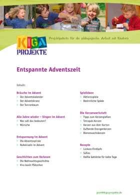 PDF: Entspannte Adventszeit (kigaprojekte)