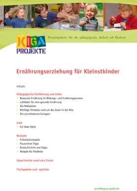 PDF: Ernährungserziehung für Kleinstkinder (kigaprojekte)