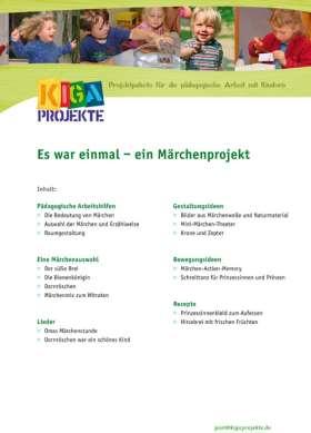 PDF: Es war einmal... ein Märchenprojekt (kigaprojekte)