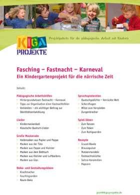 PDF: Fasching - Fastnacht - Karneval (kigaprojekte)