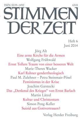 PDF: Katholische Kirche und Buddhismus in Deutschland (StdZ 6/2014, S. 419-421)
