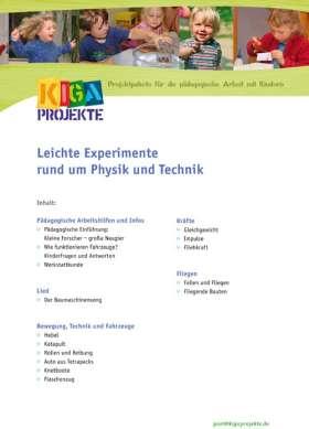 PDF: Leichte Experimente rund um Physik und Technik (kigaprojekte)