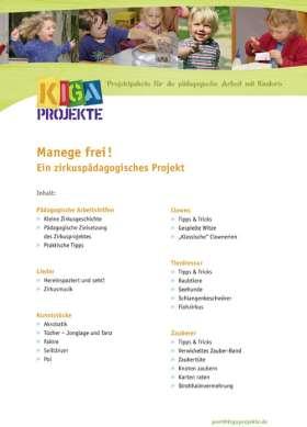 PDF: Manege frei! Ein zirkuspädagogisches Projekt (kigaprojekte)