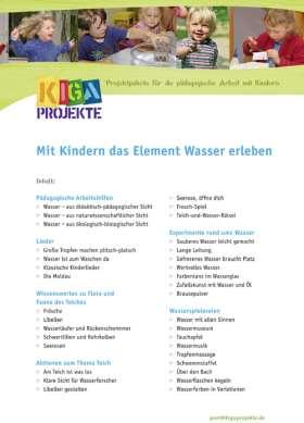 PDF: Mit Kindern das Element Wasser erleben (kigaprojekte)