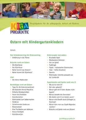 PDF: Ostern mit Kindergartenkindern (kigaprojekte)