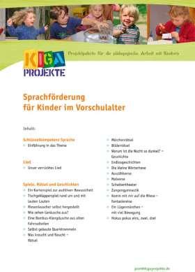 PDF: Sprachförderung für Kinder im Vorschulalter (kigaprojekte)