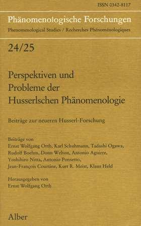 Perspektiven und Probleme der Husserlschen Phänomenologie. Beiträge zur neueren Husserl-Forschung