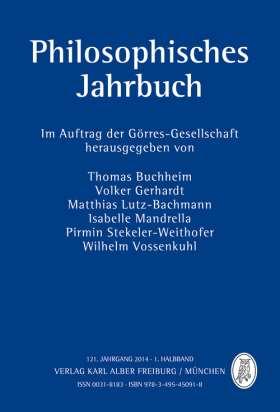 Philosophisches Jahrbuch. 121. Jahrgang 2014 - 1. Halbband