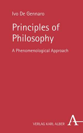 Principles of Philosophy: A Phenomenological Approach Couverture du livre