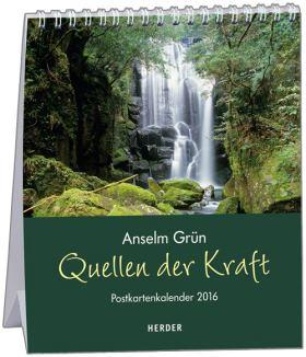 Quellen der Kraft. Postkartenkalender 2016