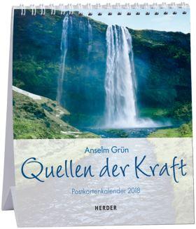 Quellen der Kraft. Postkartenkalender 2018