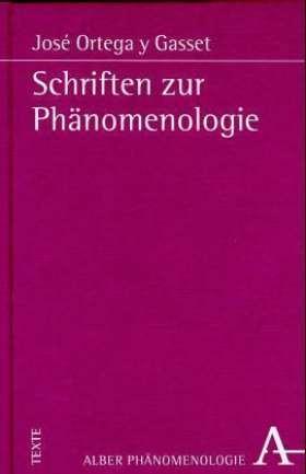 Schriften zur Phänomenologie