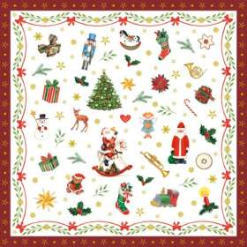 Servietten Weihnachtszeit