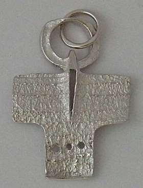 Silberkreuzchen. aus 925 Sterling-Silber rhodiniert