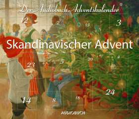 Skandinavischer Advent . Der Audiobuch-Adventskalender