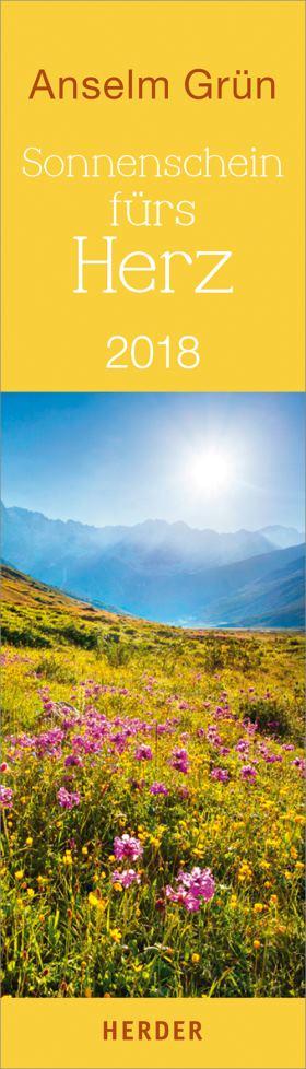 Sonnenschein fürs Herz. Lesezeichenkalender 2018
