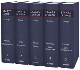 Staatslexikon I. Recht - Wirtschaft - Gesellschaft