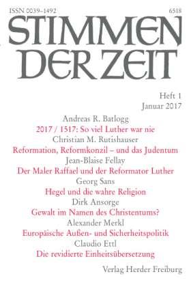 Stimmen der Zeit - 1/2017