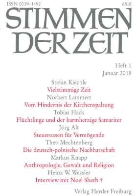 Stimmen der Zeit - 1/2018
