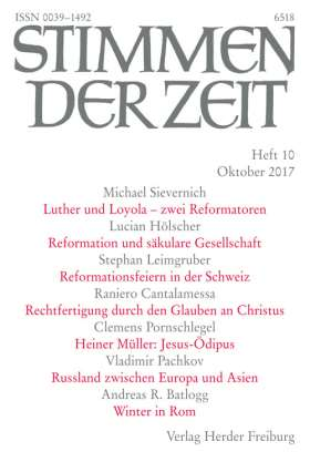 Stimmen der Zeit - 10/2017