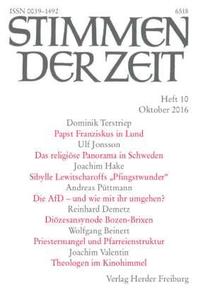Stimmen der Zeit - 10/2016