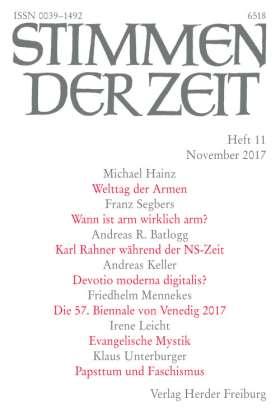 Stimmen der Zeit - 11/2017