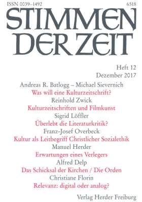 Stimmen der Zeit - 12/2017
