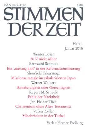 Stimmen der Zeit - 1/2016