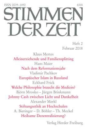 Stimmen der Zeit - 2/2018
