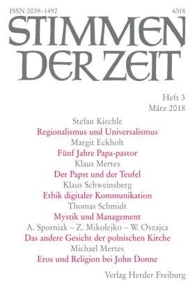Stimmen der Zeit - 3/2018