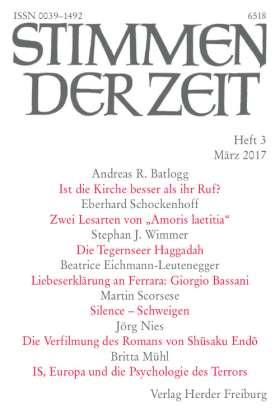 Stimmen der Zeit - 3/2017