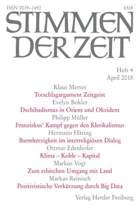 Stimmen der Zeit - 4/2018