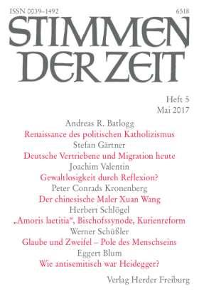 Stimmen der Zeit - 5/2017