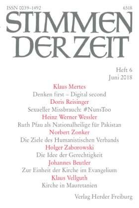 Stimmen der Zeit - 6/2018