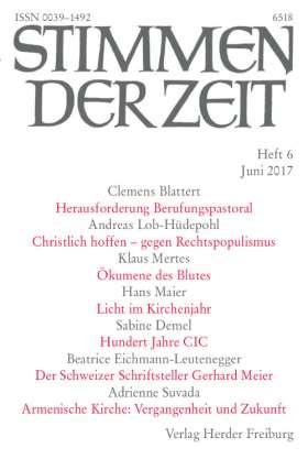 Stimmen der Zeit - 6/2017