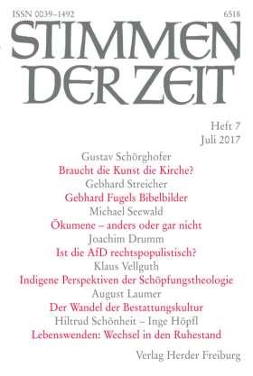 Stimmen der Zeit - 7/2017