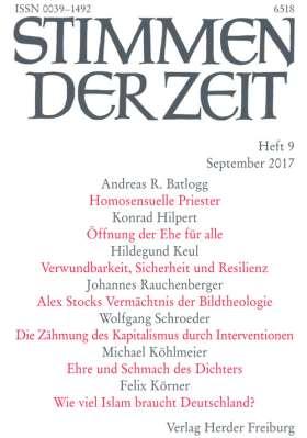 Stimmen der Zeit - 9/2017