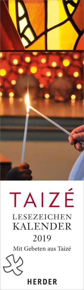 Taizé-Lesezeichenkalender 2019. Mit Gebeten aus Taizé