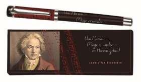 Tintenroller Ludwig van Beethoven. in Geschenkbox