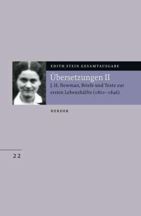 Übersetzung von John Henry Newman, Briefe und Texte zur ersten Lebenshälfte (1801-1846)