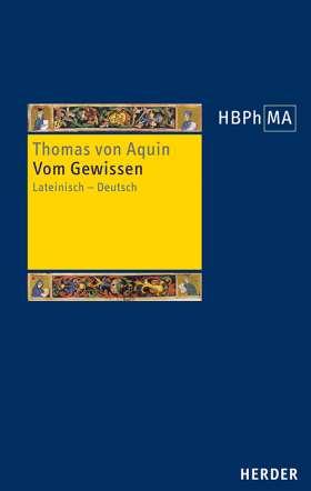 Vom Gewissen. Lateinisch - Deutsch. Übersetzt und bearbeitet von Hanns-Georg Nissing