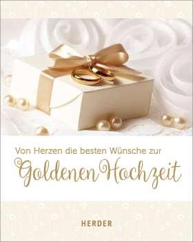 Von Herzen die besten Wünsche zur Goldenen Hochzeit