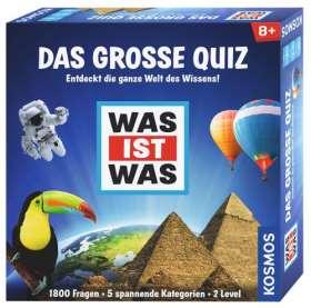 Was ist was - Das große Quiz. Entdeckt die ganze Welt des Wissens!