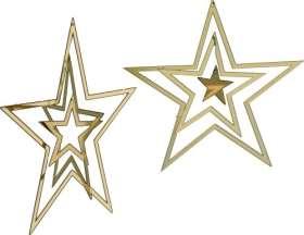 Zwei Dreifach-Sterne (beweglich)