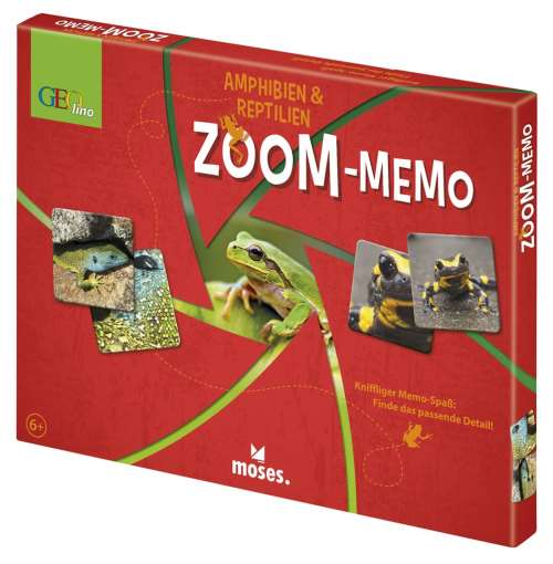 GEOlino Zoom-Memo Amphibien & Reptilien